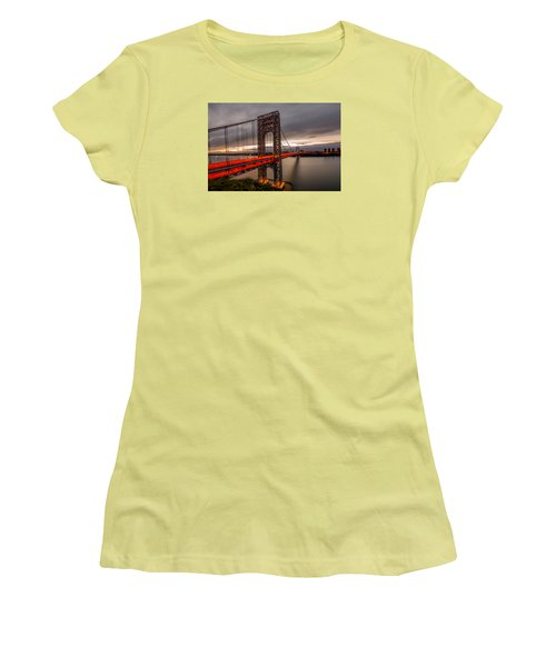 Women's T-Shirt (Junior Cut) featuring the photograph Gods Light  by Anthony Fields