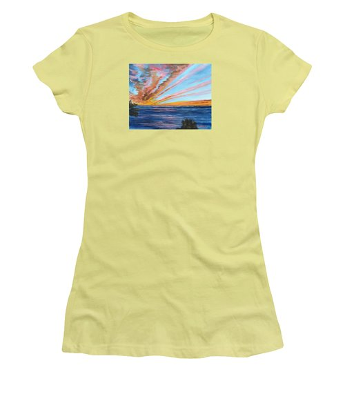 God's Magic On The Key Women's T-Shirt (Athletic Fit)