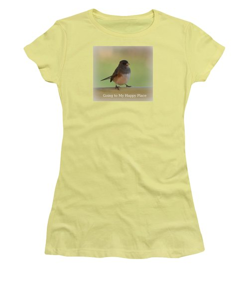 Going To My Happy Place Women's T-Shirt (Athletic Fit)