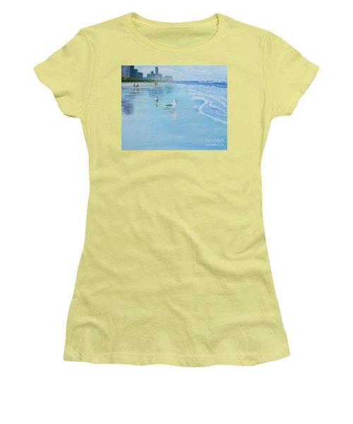 Gold Coast Australia, Women's T-Shirt (Junior Cut) by Genevieve Brown