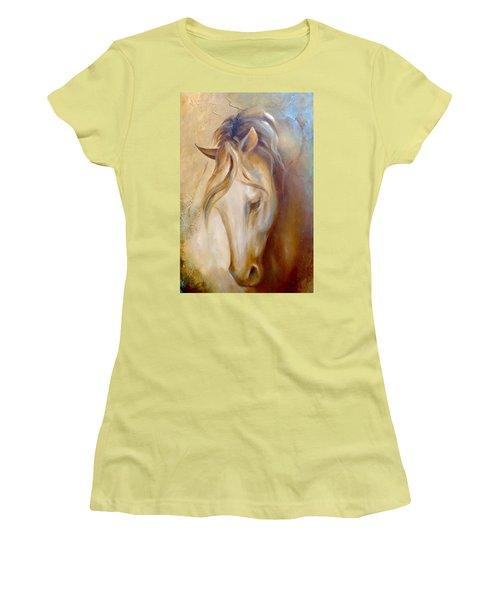 Gold Dust 2 Women's T-Shirt (Junior Cut) by Dina Dargo