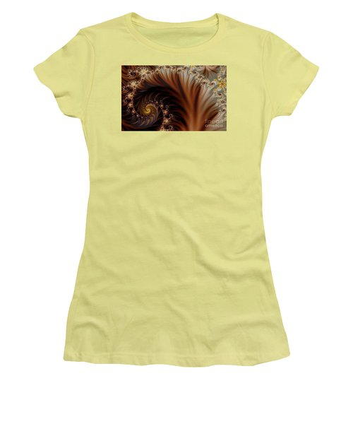 Gold In Them Hills Women's T-Shirt (Junior Cut) by Clayton Bruster