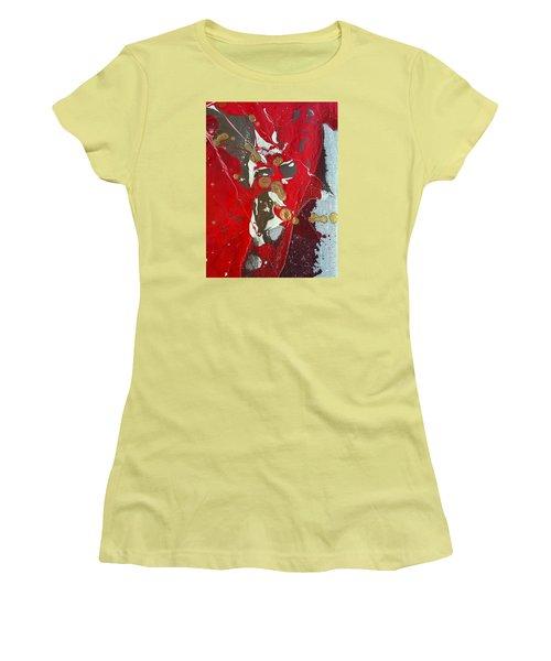 gold inhaling Jaffar Women's T-Shirt (Athletic Fit)