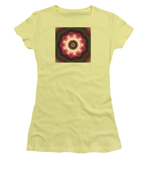 Gold  Women's T-Shirt (Junior Cut) by Robert Thalmeier
