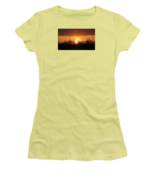 Golden Arch Sunset Women's T-Shirt (Athletic Fit)