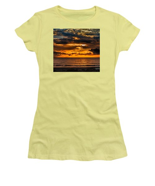 Golden Dawn Women's T-Shirt (Athletic Fit)