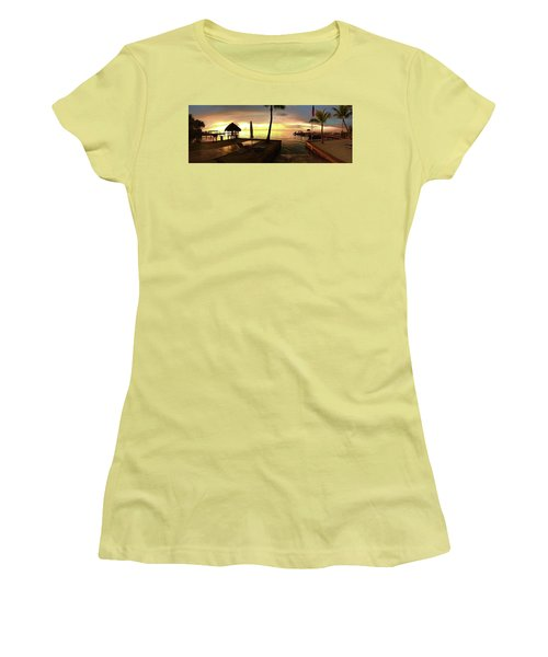 Golden Dream Women's T-Shirt (Junior Cut) by Steven Lebron Langston