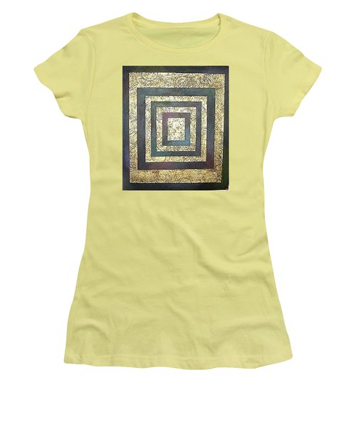 Golden Fortress Women's T-Shirt (Junior Cut) by Bernard Goodman