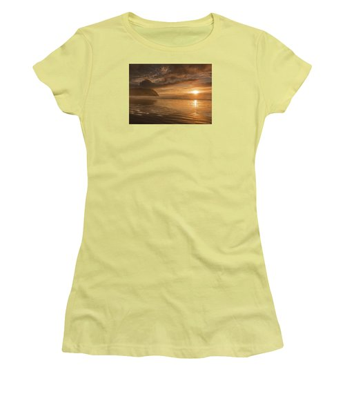 Golden Hour Women's T-Shirt (Junior Cut) by John Gilbert