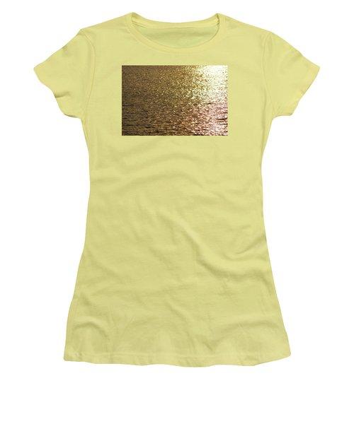 Golden Lake Women's T-Shirt (Athletic Fit)