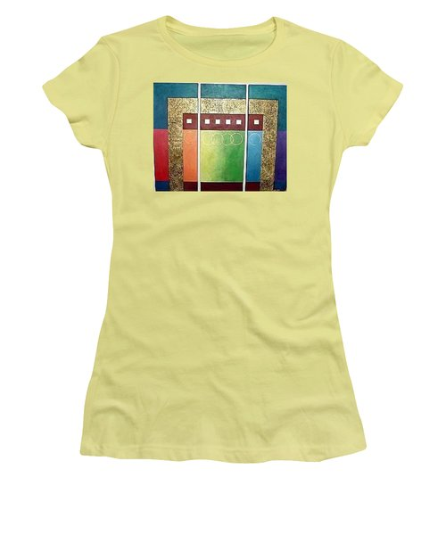 Golden Mesa Women's T-Shirt (Junior Cut) by Bernard Goodman