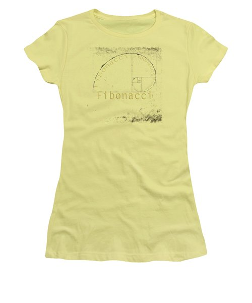 Golden Ratio Women's T-Shirt (Junior Cut) by Paulette B Wright