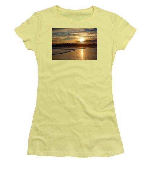 Long Beach, British Columbia Women's T-Shirt (Junior Cut) by Heather Vopni