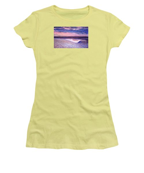 Golden Sea Women's T-Shirt (Junior Cut) by Jeanette Jarmon