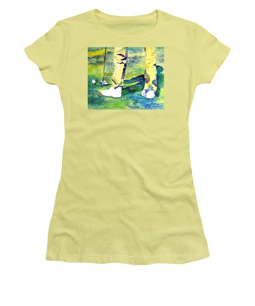Golf Series - High Hopes Women's T-Shirt (Athletic Fit)