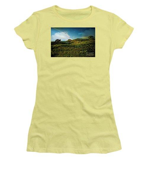 Good Morning Medlands Women's T-Shirt (Athletic Fit)