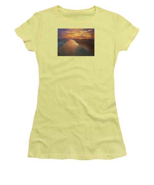 Good Night Women's T-Shirt (Athletic Fit)