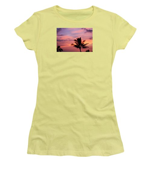 Gorgeous Hawaiian Sunset - 1 Women's T-Shirt (Junior Cut) by Karen Nicholson