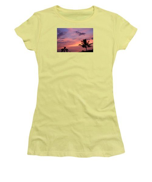 Gorgeous Hawaiian Sunset - 2 Women's T-Shirt (Junior Cut) by Karen Nicholson