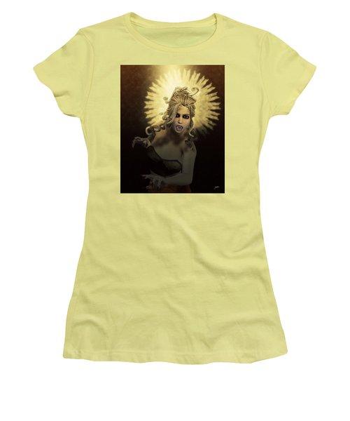Gorgon Medusa Women's T-Shirt (Junior Cut)