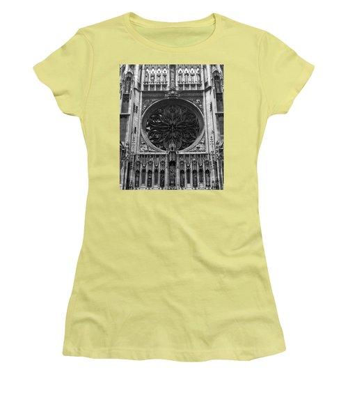 Women's T-Shirt (Junior Cut) featuring the photograph Gothic by Brian Jones