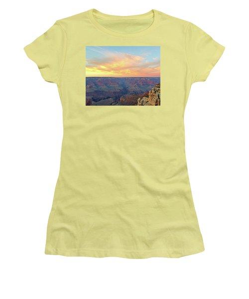 Grand Canyon No. 5 Women's T-Shirt (Junior Cut) by Sandy Taylor