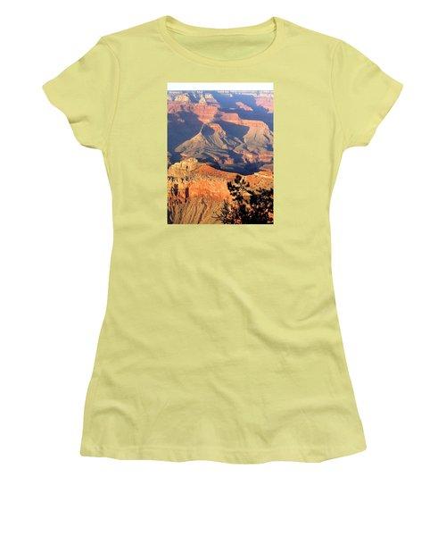 Grand Canyon 50 Women's T-Shirt (Junior Cut) by Will Borden