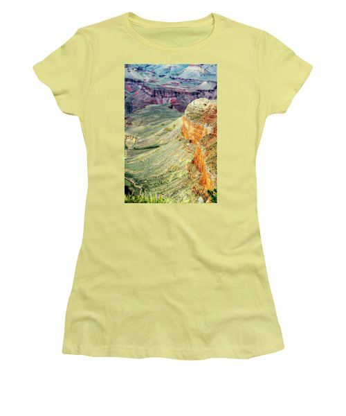 Grand Canyon Abstract Women's T-Shirt (Junior Cut) by Robert FERD Frank