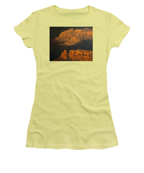 Grand Canyon Meditation Women's T-Shirt (Junior Cut) by Jim Thomas