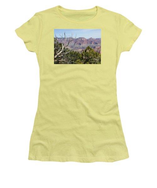 Grand Canyon National Park South Rim Women's T-Shirt (Junior Cut) by Patricia E Sundik