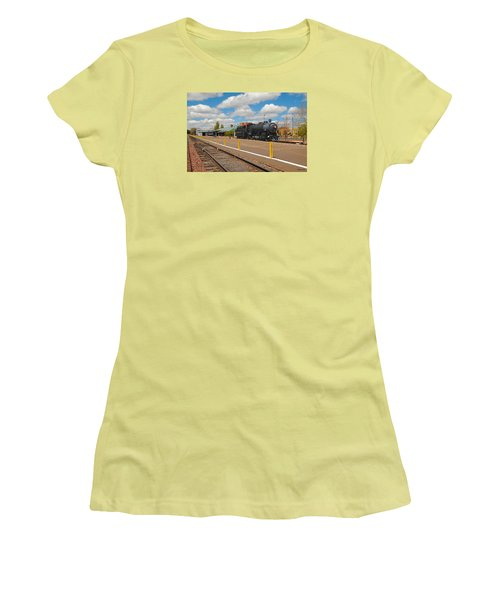 Grand Canyon Railway Women's T-Shirt (Athletic Fit)