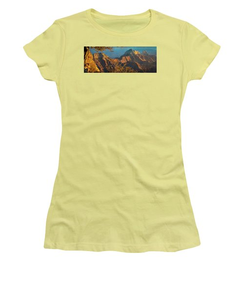 Grand Canyon Sunset Panorama Women's T-Shirt (Athletic Fit)