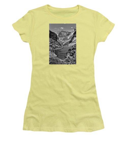 Grand Canyon Vista Women's T-Shirt (Junior Cut) by Alan Toepfer