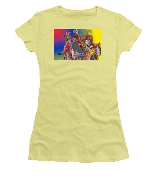Grand Entrance Women's T-Shirt (Junior Cut) by Audrey Robillard