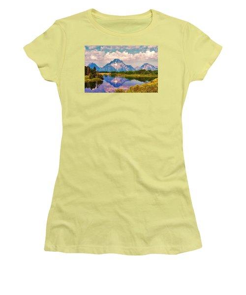 Grand Teton Women's T-Shirt (Athletic Fit)