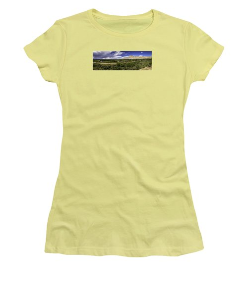 Grand Valley Panoramic Women's T-Shirt (Junior Cut) by Teri Virbickis