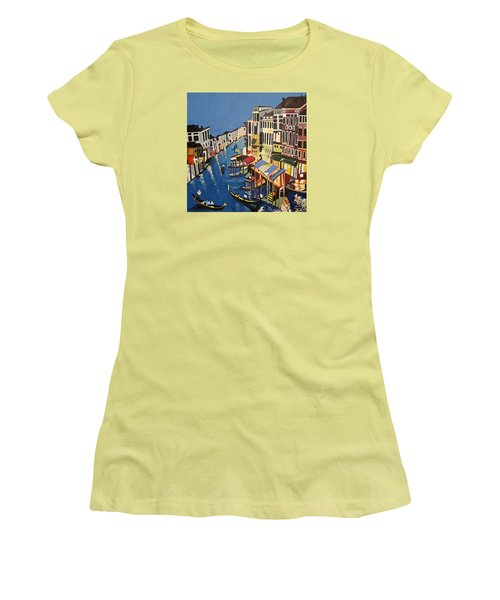 Grande Canal Women's T-Shirt (Athletic Fit)