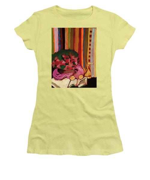 Grandma's Glasses Women's T-Shirt (Junior Cut) by Manuela Constantin