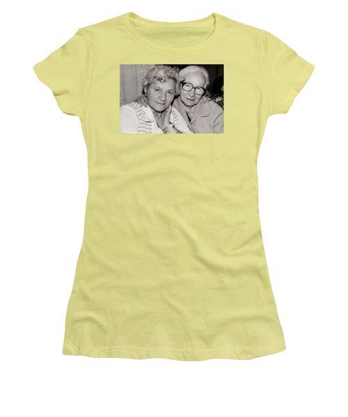 Grandmothers Women's T-Shirt (Junior Cut) by Vadim Levin