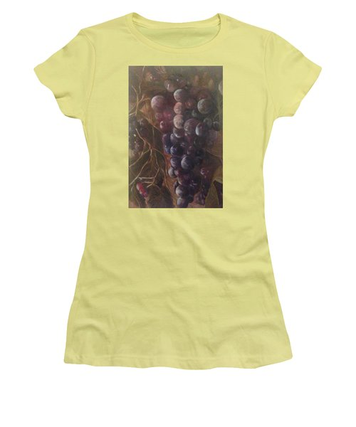 Grapes On A Vine Ca. Women's T-Shirt (Athletic Fit)