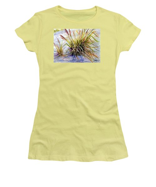 Grass 1 Women's T-Shirt (Athletic Fit)