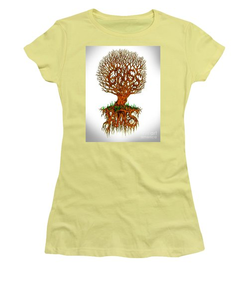 Grass Roots Women's T-Shirt (Athletic Fit)