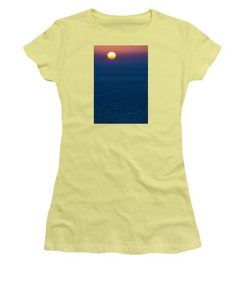 Greek Sunset Women's T-Shirt (Athletic Fit)