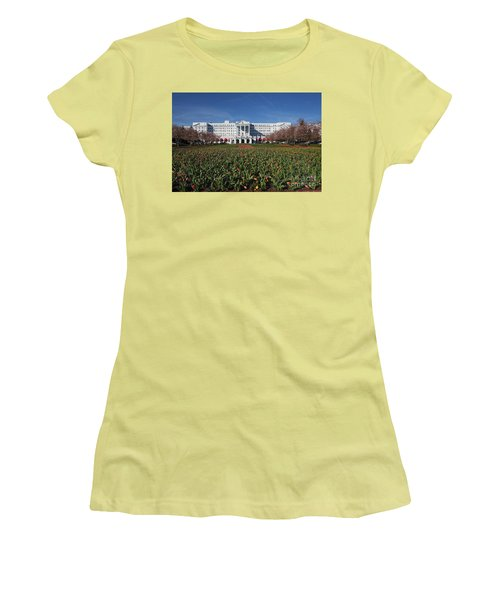 Greenbrier Resort Women's T-Shirt (Athletic Fit)