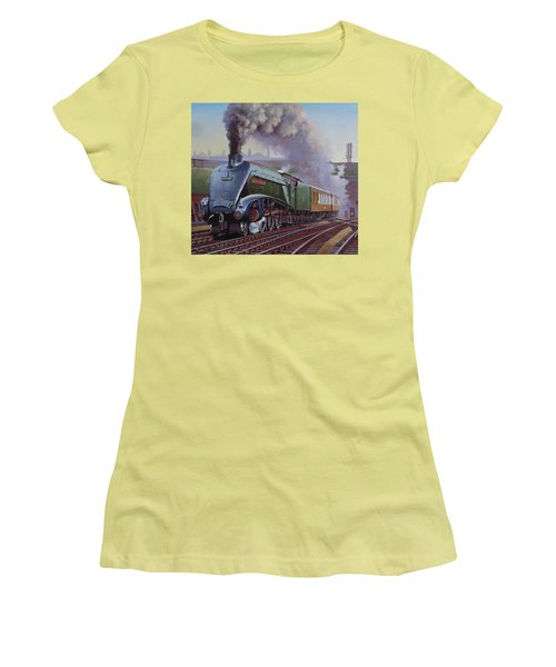 Gresley Pacific A4 Class. Women's T-Shirt (Junior Cut) by Mike  Jeffries