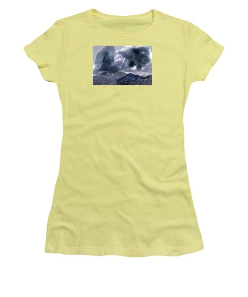 Grey Clouds Women's T-Shirt (Athletic Fit)