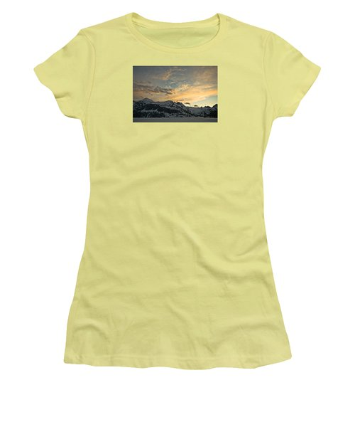 Grey Wolf Lake Women's T-Shirt (Athletic Fit)