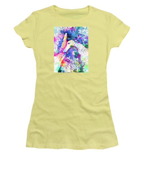 Greyhound Trance Women's T-Shirt (Athletic Fit)