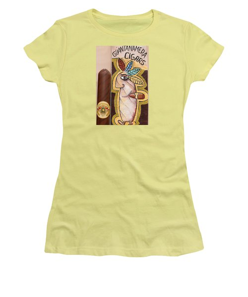 Guantanamera Cigars Women's T-Shirt (Athletic Fit)