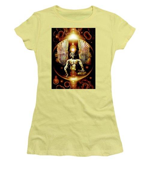 Guardian  Archangel Women's T-Shirt (Junior Cut) by Hartmut Jager